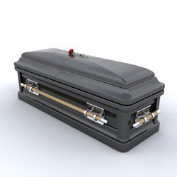 Having trouble thinking about death? Go pick out a casket!