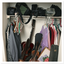 Cleaning out your closets