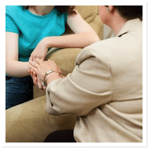 How to Help a Chemically Dependent Person Who Has Suffered a Loss