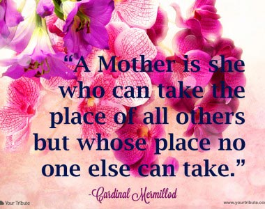 Cardinal Mermillod: A Mother is she…