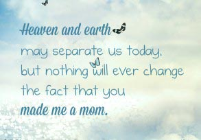 Heaven and earth may separate us today…