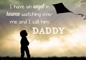 I have an angel in heaven watching over me…