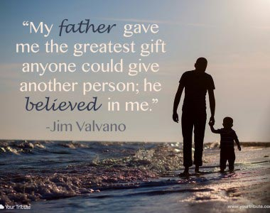 Jim Valvano: My father gave me the greatest gift…