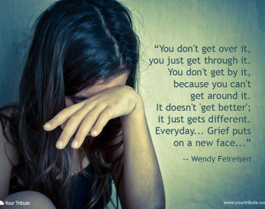 Wendy Feireisen: You don't get over it…