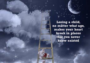 Losing a child, no matter what age…