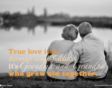 True love isn't Romeo and Juliet…